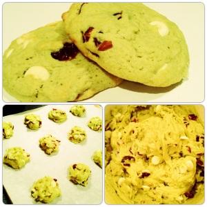 Gluten Free Cranberry Pistachio Cookies